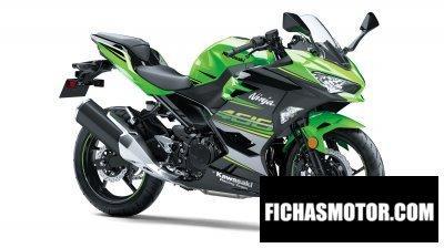 Ficha técnica Kawasaki ninja 400 krt edition 2018