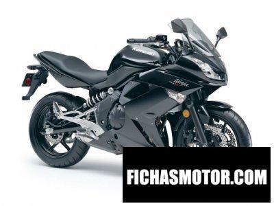 Ficha técnica Kawasaki ninja 400r 2011