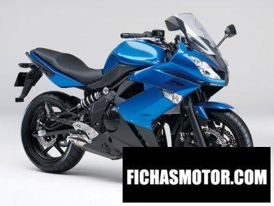 Ficha técnica Kawasaki ninja 400r 2013