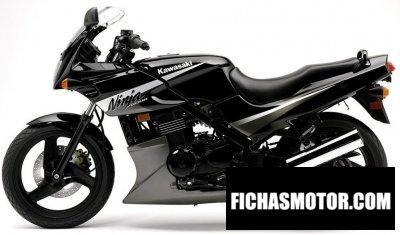 Ficha técnica Kawasaki ninja 500 r 2005