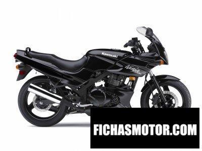 Imagen moto Kawasaki ninja 500r año 2009