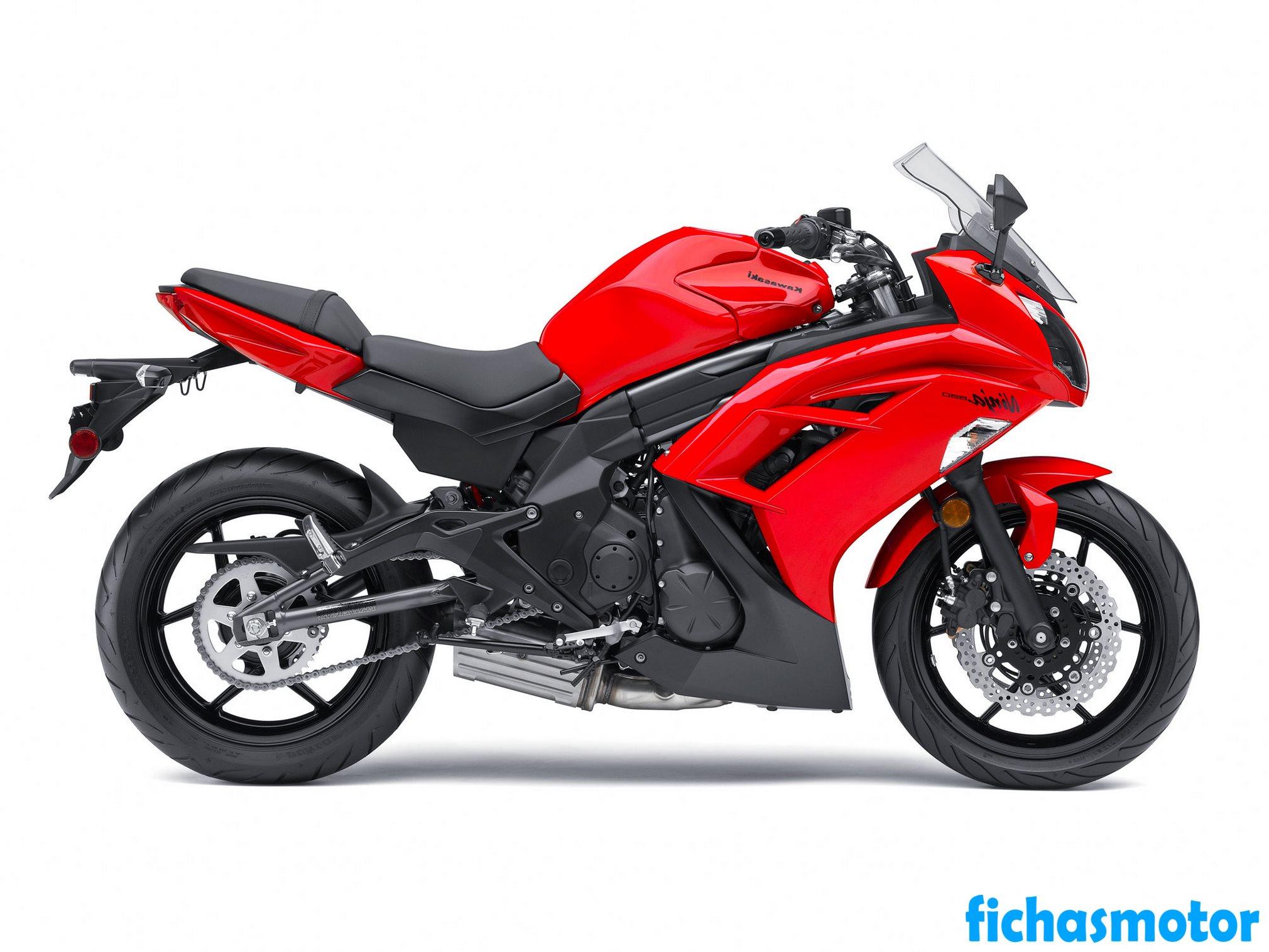 Ficha técnica Kawasaki ninja 650 2012