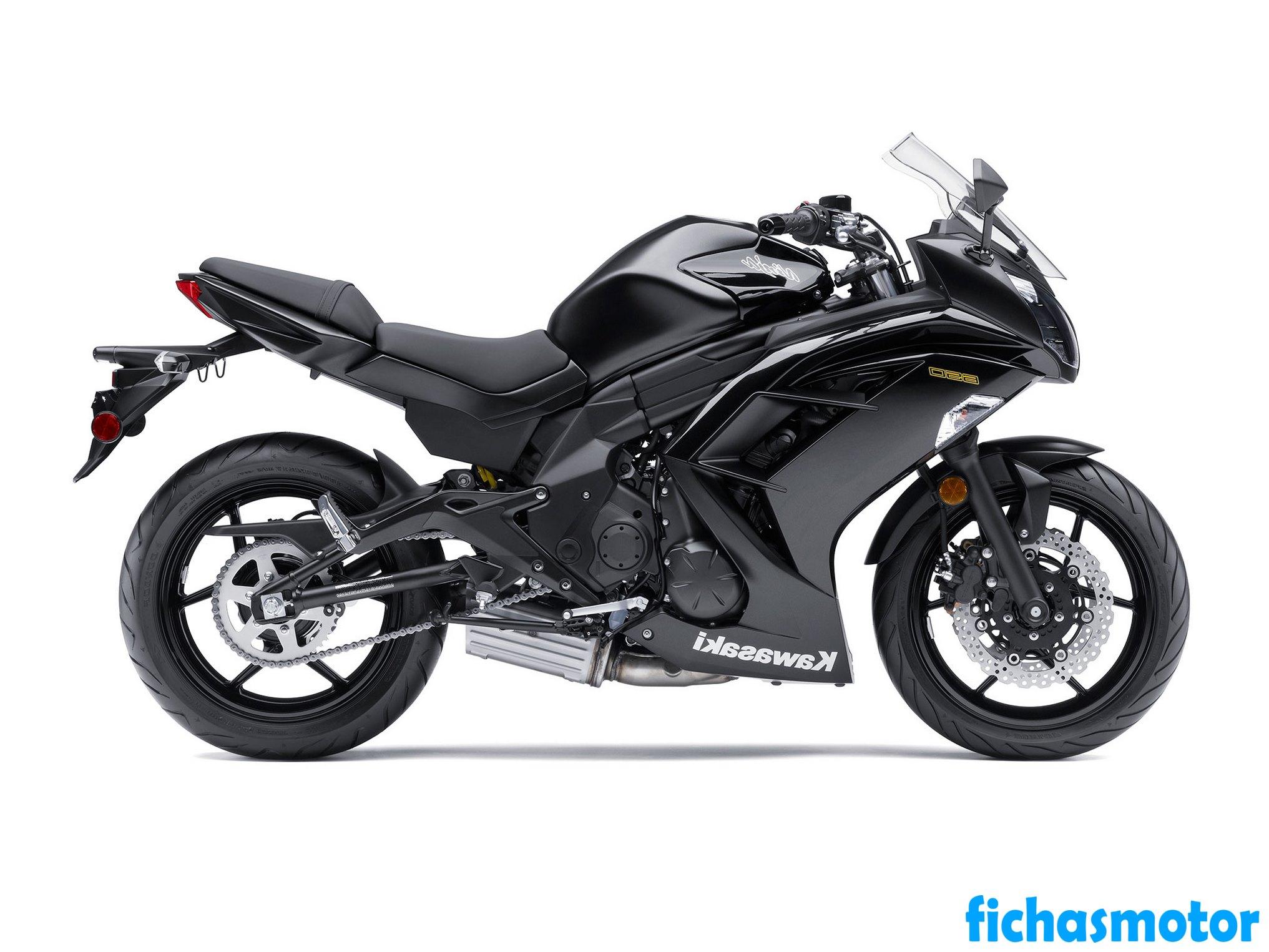 Imagen moto Kawasaki ninja 650 año 2013
