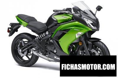 Imagen moto Kawasaki ninja 650 año 2014