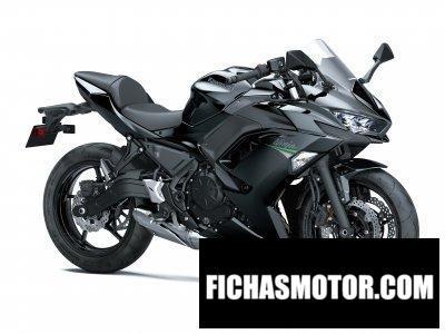 Imagen moto Kawasaki Ninja 650 año 2020