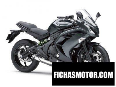 Imagen moto Kawasaki ninja 650 abs año 2016