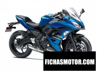 Imagen moto Kawasaki ninja 650 abs año 2018