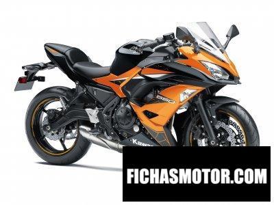 Imagen moto Kawasaki Ninja 650 ABS año 2019