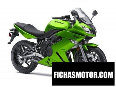 Ficha técnica Kawasaki ninja 650r 2010