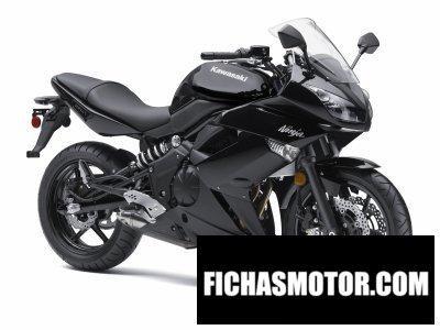 Imagen moto Kawasaki ninja 650r año 2011