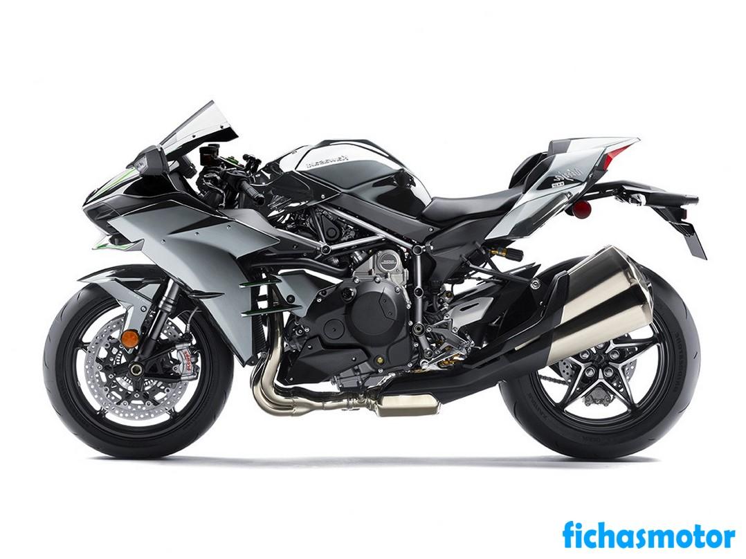 Ficha técnica Kawasaki Ninja H2 2019