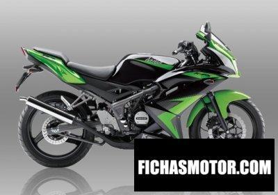 Ficha técnica Kawasaki ninja rr 2015