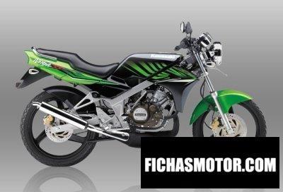 Imagen moto Kawasaki ninja ss año 2015