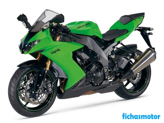 Ficha técnica Kawasaki ninja zx-10r 2008