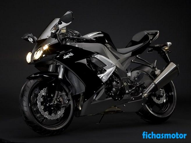 Imagen moto Kawasaki ninja zx-10r año 2009
