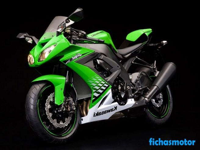 Imagen moto Kawasaki ninja zx -10r año 2010