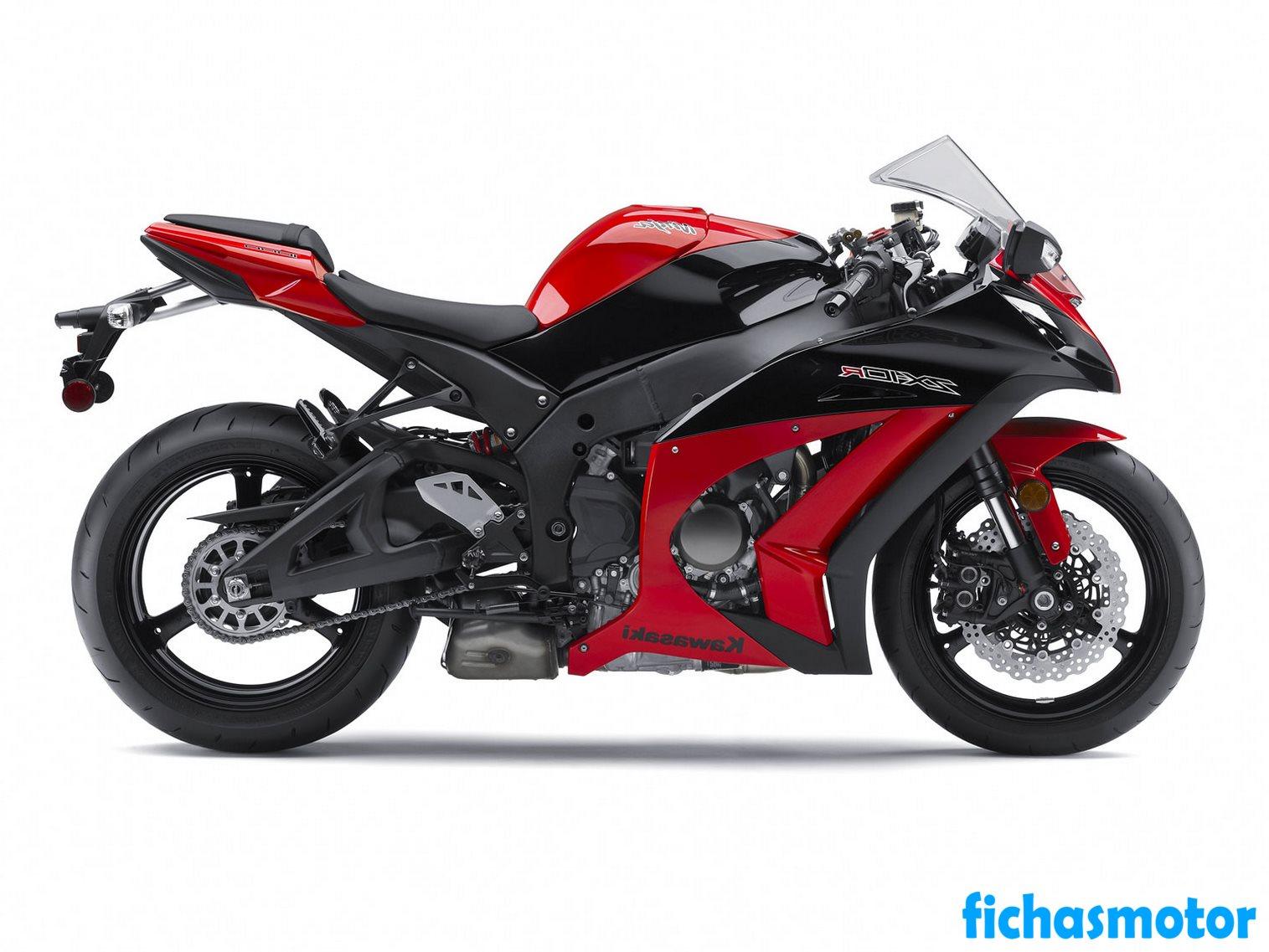 Imagen moto Kawasaki ninja zx-10r año 2012