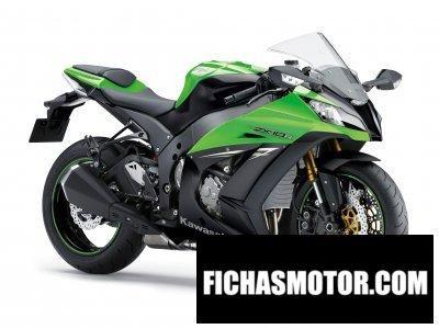 Ficha técnica Kawasaki ninja zx-10r 2014