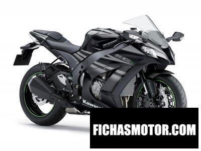 Ficha técnica Kawasaki ninja zx-10r 2015