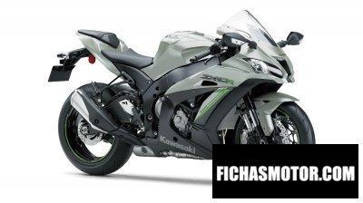 Imagen moto Kawasaki ninja zx-10r año 2018