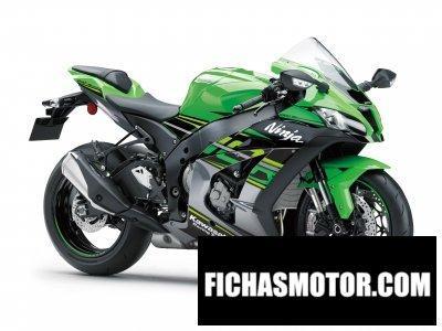 Ficha técnica Kawasaki ninja zx-10r krt edition 2018