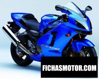 Imagen moto Kawasaki ninja zx-12 r año 2005