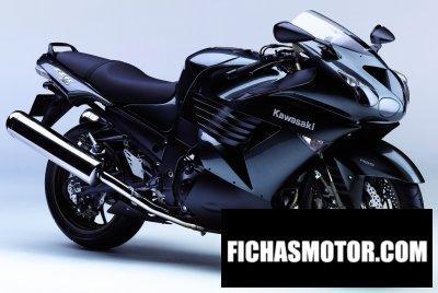 Ficha técnica Kawasaki ninja zx-14 2006