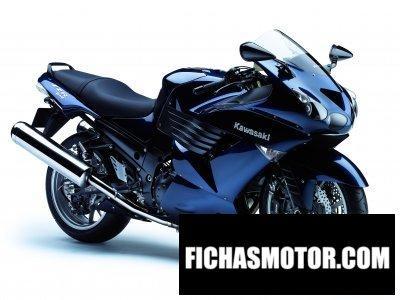 Imagen moto Kawasaki ninja zx-14 año 2007