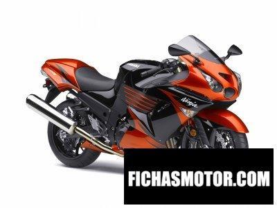 Imagen moto Kawasaki ninja zx-14 año 2009