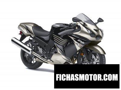 Ficha técnica Kawasaki ninja zx-14 2010