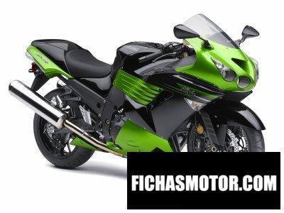 Ficha técnica Kawasaki ninja zx -14 supersport 2011
