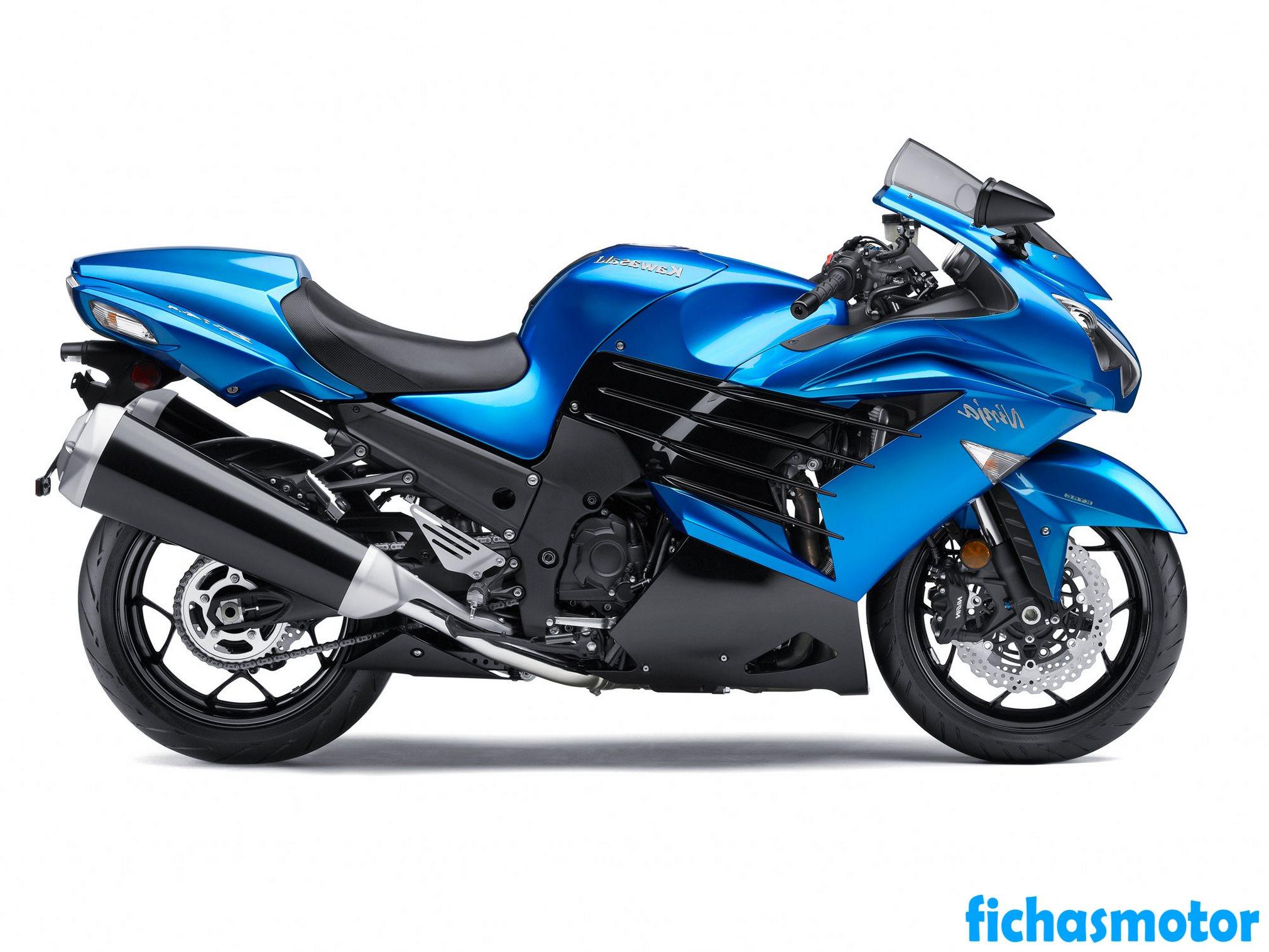 Imagen moto Kawasaki ninja zx-14r año 2012