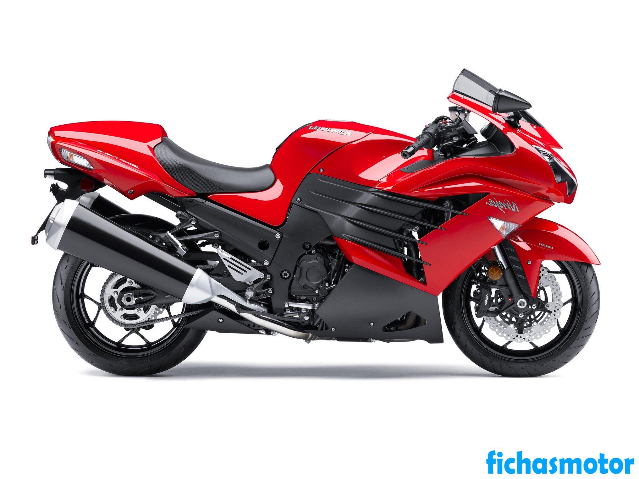 Ficha técnica Kawasaki ninja zx -14r 2013