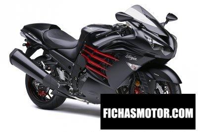 Ficha técnica Kawasaki ninja zx-14r 2014
