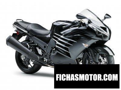 Imagen moto Kawasaki ninja zx-14r año 2016