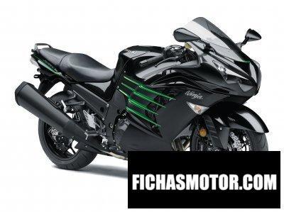 Imagen moto Kawasaki ninja zx-14r año 2017