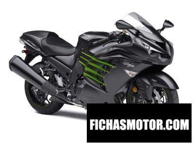 Ficha técnica Kawasaki ninja zx-14r abs 2015