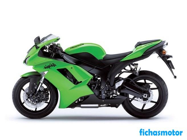 Ficha técnica Kawasaki ninja zx-6r 2007