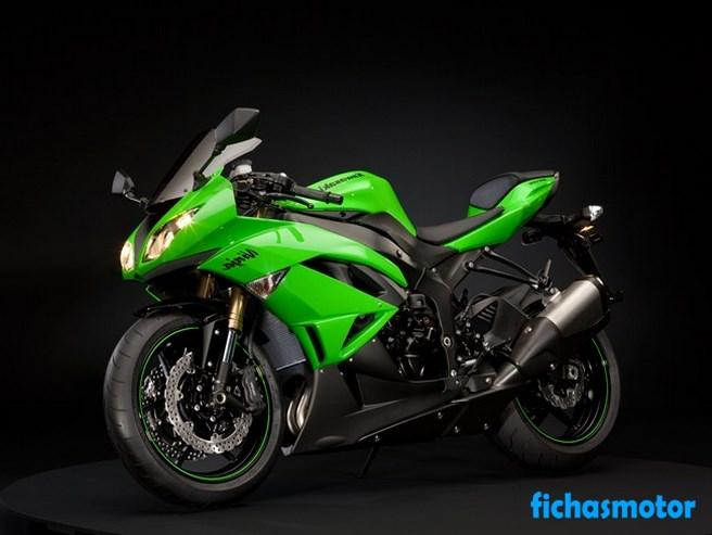 Ficha técnica Kawasaki ninja zx-6r 2009