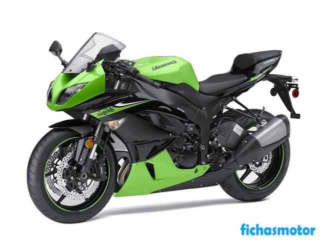 Imagen moto Kawasaki ninja zx -6r año 2010
