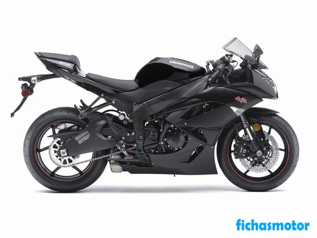 Ficha técnica Kawasaki ninja zx-6r 2011