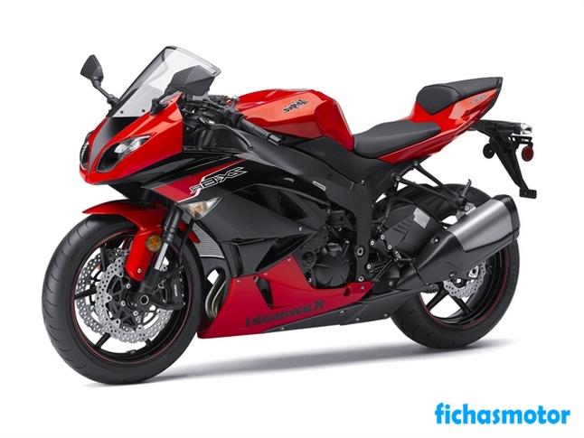 Imagen moto Kawasaki ninja zx-6r año 2012