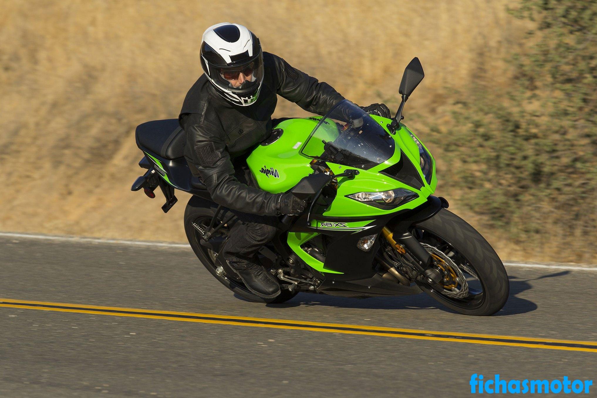Imagen moto Kawasaki ninja zx-6r año 2014