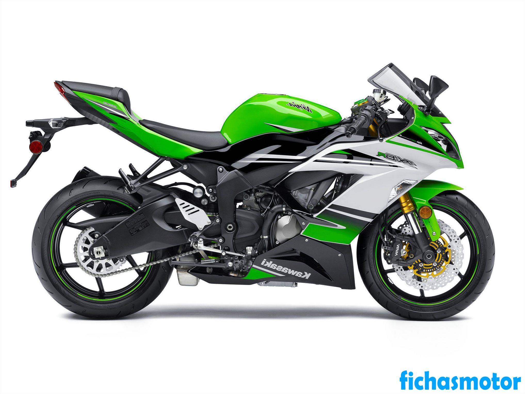 Ficha técnica Kawasaki ninja zx-6r 2017