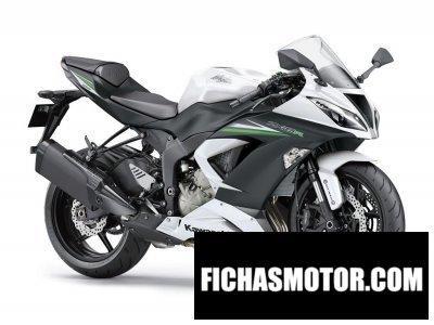 Ficha técnica Kawasaki ninja zx-6r 636 2015