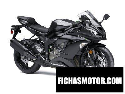 Ficha técnica Kawasaki ninja zx-6r abs 2015