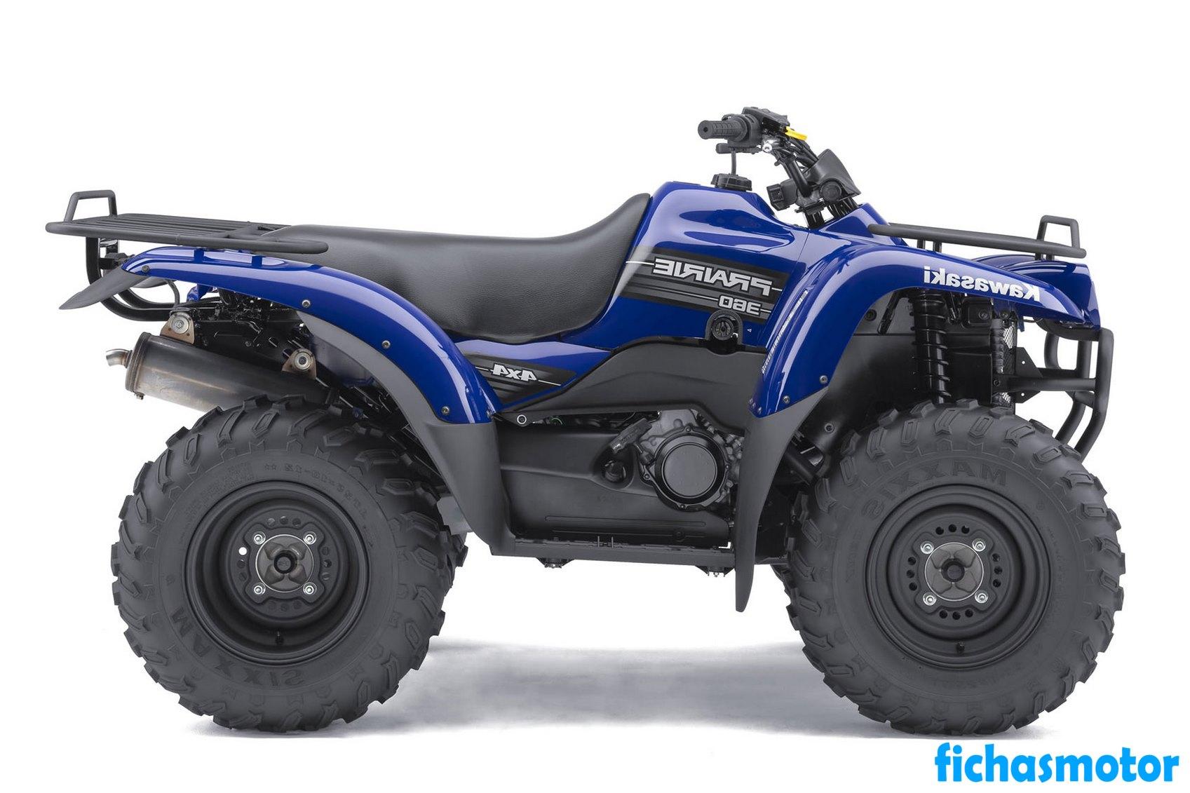 Imagen moto Kawasaki Prairie 360 4x4 año 2011