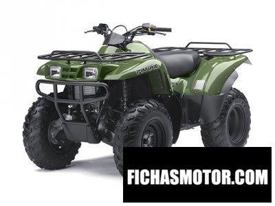 Ficha técnica Kawasaki Prairie 360 4x4 2014