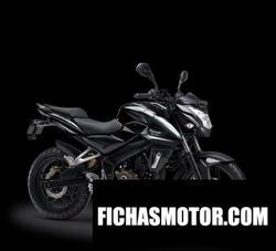 Imagen moto Kawasaki pulsar 200ns 2017