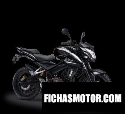 Ficha técnica Kawasaki pulsar 200ns 2017